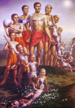 Карма, реинкарнация, чакры