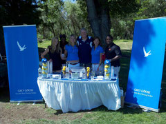 Grey Goose Booth at Hole 6