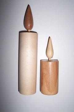 Holzkerzen