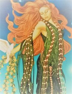 愛と美の女神アフロディーテのヒーリング 女性性の解放と愛と美をサポートする情熱的なエネルギー 【アジュールプラス】