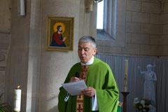 L'abbé Thierry Gard, nouveau curé de la paroisse Notre-Dame des Trois Vallées.