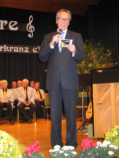 Moderator Rudi Jäger