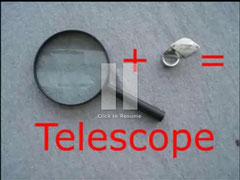 basit teleskop yapımı