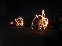 Feuershow, Hochzeit, Unterhaltung