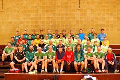 Über 40 Akteure trafen sich zum Allstar Turnier des TV Gescher. Eingeladen waren aktive und ehemalige Spieler vom TV Gescher, ESV Coesfeld, FSV Gescher, SuS Legden und den entsprechenden Spielgemeinschaften.