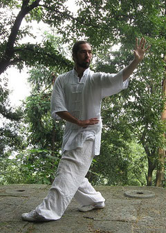 David Wei in Wudang