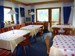 Frühstücksraum Gästehaus Susanne