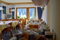 Frühstück im Gästehaus Susanne