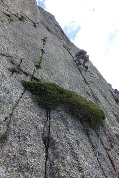 Teufelstalwand, Tüfelstalwand, Teufelswand, Tüfelswand, klettern,Andermatt, Wilde 13, Wilde dreizehn, 5. Seillänge