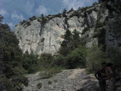 Klettern, Climbing, Südfrankreich, Provence, Buis les Baronnies, Malaucène