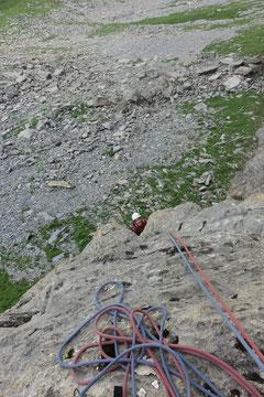 Klettern, Hohmad, Silberdistel, Melchsee-Frutt, Melchtal