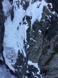 Eiger Nordwand, Eiger Northface, Eiger Heckmair, Quarzriss