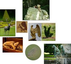 Kasimirs, Cäsar und Fredi mit der Flora und Fauna der Loire, Frankreich