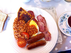Scottish Breakfast (ohne Haggis und Black Pudding)