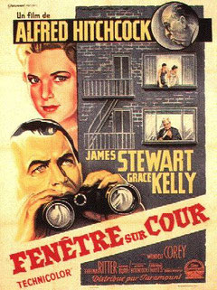 Fenêtre Sur Cour d'Alfred Hitchcock - 1954 - Thriller