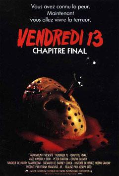 Vendredi 13 - Chapitre 4 : Chapitre Final de Joseph Zito - 1984 / Slasher - Horreur