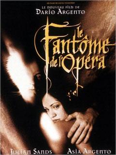 Le Fantôme de l'Opéra de Dario Argento - 1998 / Horreur