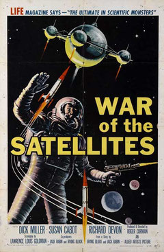 War Of The Satellites de Roger Corman - 1958 / Science-Fiction