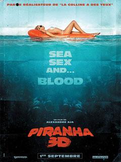 Piranha 3D de Alexandre Aja / 2010 - Horreur