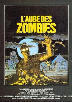 L'Aube Des Zombies de Frank Agrama - 1981 / Horreur