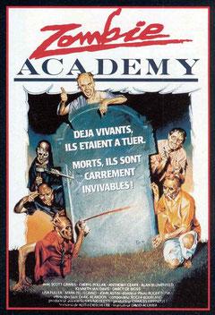 Zombie Academy de David Acomba - 1989 / Horreur
