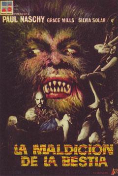 Dans les Griffes du Loup-Garou de Miguel Iglesias Bonns - 1975 / Horreur