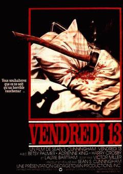 Vendredi 13 - Chapitre 1 de Sean S. Cunningham - 1980 / Slasher - Horreur