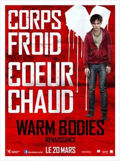 Warm Bodies - Renaissance de Jonathan Levine - 2013 / Fantastique
