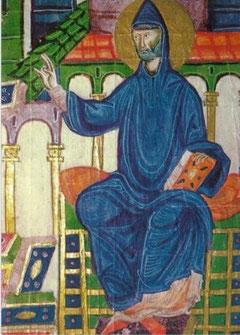 師父、教える聖ベネディクト