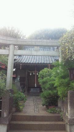 轡(くつわ)神社 (東京都板橋区仲町)