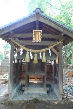 中山神社摂社「荒脛神社」          (埼玉県さいたま市)