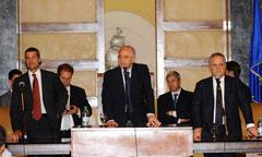 Presentazione Salerno Calcio palazzo di città