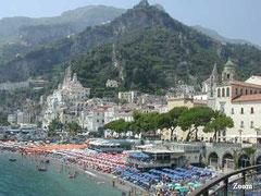 Panorama di Amalfi