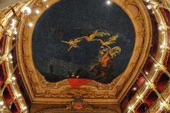 Verdi di Salerno Gioacchino Rossini mentre dirige le nove muse