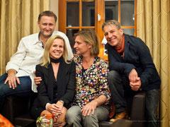 v.l.n.r.: Dirk Kohl, Ursula Friedsam, Dirk Zöllner und André Gensicke