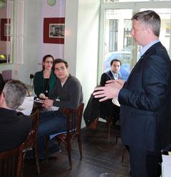Sven Fietkau, Vorsitzender des Verbandes Die Familienunternehmer e.V. in Berlin