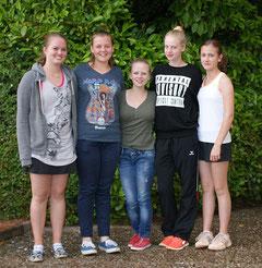 Die Juniorinnen U15 2 spielen dieses Jahr eine tolle Runde.