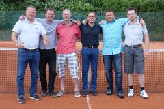 Meister in der Landesliga wurden durch ein 21:0 der Herren 40-2. Herzlichen Glückwunsch!
