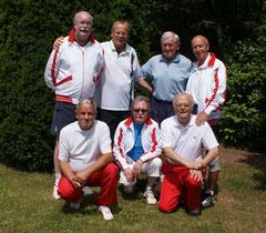 Groß gefeiert  trotz Niederlage haben die Herren 60.