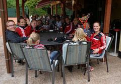 Die Damen konnten die erste Meisterschaft für den TC Rot-Weiss Dillingen einfahren - Aufstieg in die Saarlandliga