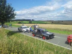 rpt-Motorsport Polo Im Ziel beim Weser Bergpreis 2012 Höxter