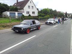 rpt-Motorsport Polo im Vorstart beim Weser-Bergpreis 2012 Höxter