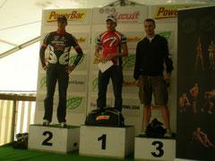 Gesamtsieg im Swiss Triathlon Cup vor Kamil van Beijnum und Peter Portmann