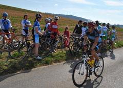 10. Platz am Radrennen Hindelbank