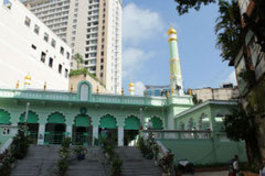 Central Saigon mosque Ho Chi Minh Vietnam