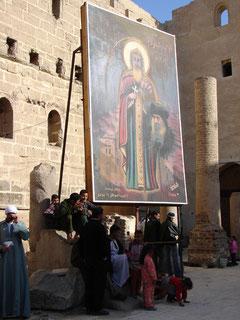 Im weissen Kloster von Sohag