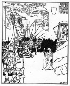 3. Ausgabe, 1. und 2. Auflage, Titelbild von Helmut W. Pesch