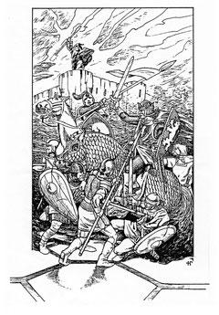 3. Ausgabe, 7. Auflage, Titelbild von Helmut W. Pesch