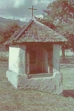 Das Chäppäli im Jahre 1943  (Foto ab Dia aus der Sammlung Meinrad Burch-Corrodi, Sarnen)