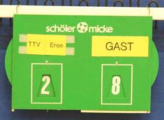 Am Ende konnten sich die Sunderanerinnen über einen 8:2 Sieg freuen.